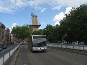 Mercedes Bus Van >> Lijn 57 Schiedam Station - Vlaardingen Westerhoofd - OV in Nederland Wiki