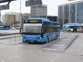 Lijn 54 Dokkum Busstation Leeuwarden Station Ov In