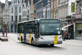 vertrekuren bussen de lijn